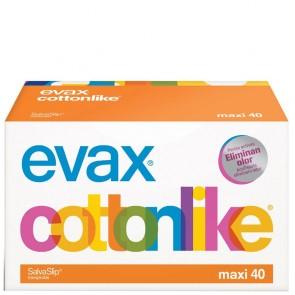 Salvaslip Evax Cottonlike Maxi 40 Unidades