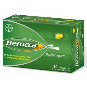 Berocca Performance 30 Comprimidos - Multivitaminico, Vitamina B, Vitamina C
