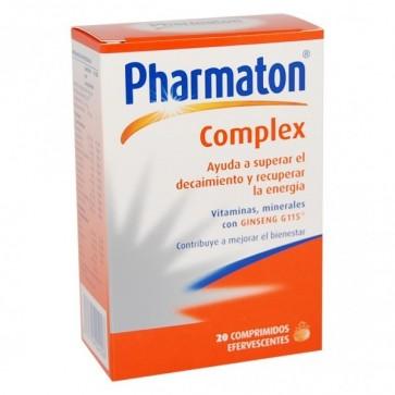 Pharmaton Complex 20 Comprimidos Efervescentes - Recuperar Energía, Vitaminas y Minerales