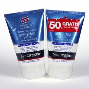 Pack 2 Unidades Neutrogena Crema De Manos Antiedad 50 ml - Hidratacion, Manchas