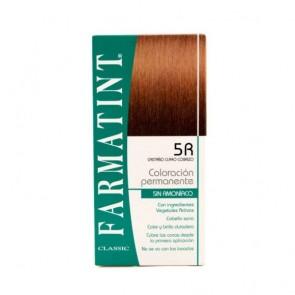 Farmatint 5R Castaño Claro Cobrizo 130 ML - Coloración Permanente Sin Amoniaco
