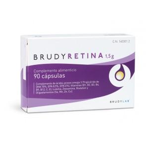 Brudy Retina 1.5 G 90 Cápsulas - Contribuye al Mantenimiento y Desarrollo de la Retina, Visión Sana