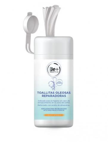 Be+ Pediatrics Toallitas Oleosas Reparadoras 50 unidades