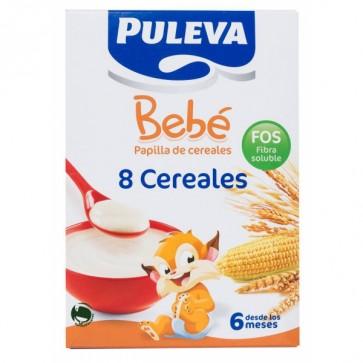 Puleva Bebé Papilla 8 Cereales con Fos 500 G