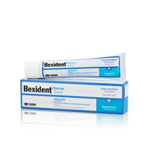 Bexident Pasta Dental Encías con Triclosán 75ml - Higiene Bucodental, Prevención Gingivitis
