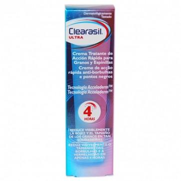 Clearasil Ultra Crema Tratante Acción Rápida 15 ml - Granos y Espinillas