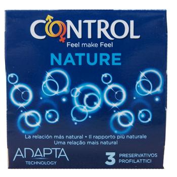 Control Adapta Nature Preservativos 3 unidades