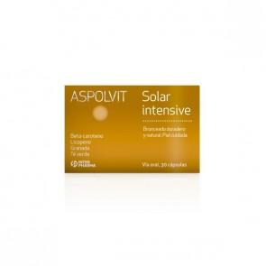 Aspolvit Solar Intensive 30 Capsulas - Potenciador del Bronceado