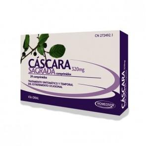Homeosor Cáscara Sagrada 400 mg 24 Comprimidos