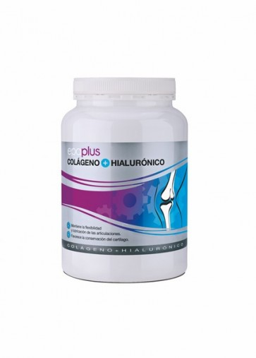 Epaplus 420 gr Colágeno + Hialurónico - Complemento Alimenticio para Deportistas y Personas de Edad Avanzada
