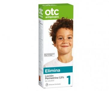 Otc Antipiojos Permetrina 1,5% Loción 125 ml - Anti Piojos y Liendres