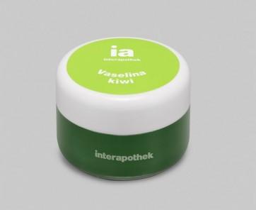 Vaselina 15 ml Sabor Kiwi de Interapothek - Hidrata Protege y Previene la Aparición de Grietas Labiales
