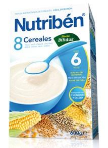 Nutribén 8 Cereales Efecto Bifidus 600 Gr