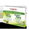 Ortis Fruta Y Fibra Doble Acción 12 Unidades - Regula El Tránsito Intestinal