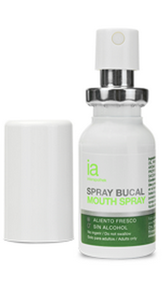 Spray Bucal 15 ml Mentolado de Interapothek - Antiséptico y Antibacteriano