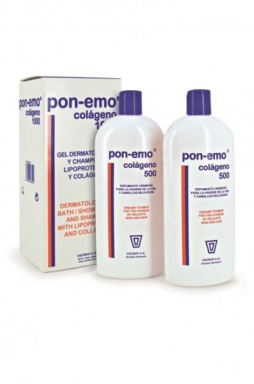 Pon-Emo Colágeno 1000ml - Gel Dermatológico y Champú de Lipoproteínas
