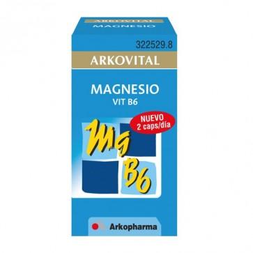 Arkovital Magnesio Vitamina B6 - 30 cáps.