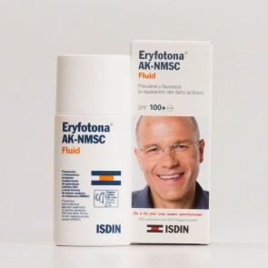 Eryfotona Ak-Nmsc Fluid 50 ml SPF100+ - Contra Manchas Picor y Descamación de la Piel Reparador de Daños Solares