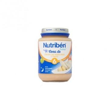 Nutribén Potito Cena  Verdura /Pavo 200G - Alimentación Bebés