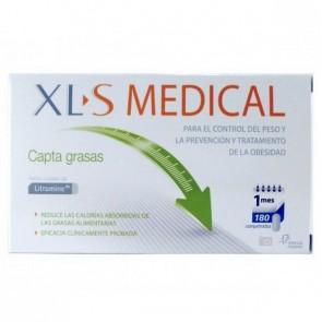 XLS Medical Captagrasas 180 Comprimidos - Controla el Apetito y Reduce los Niveles de Colesterol