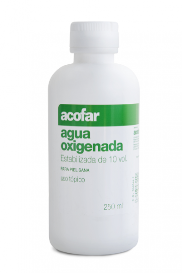 Acofar Agua Oxigenada 10 VOL 250 ml - Antiséptico