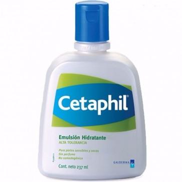 Cetaphil Emulsión Hidratante 237 ML - Hidrata en Profundidad, Pieles Secas Sensibles
