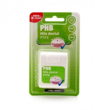 PHB con Flúor Hilo Dental Menta 50m - Higiene Interdental
