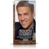 Touch Of Grey Gel Colorante Castaño 40 G - Colorante de Cabello Masculino Toque de Canas