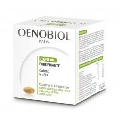 Oenobiol Capilar Fortificante 60 Caps - Complemento Alimenticio para Pelo y Uñas