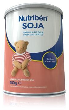 Comprar Nutriben Soja 400 G (Sin Lactosa)