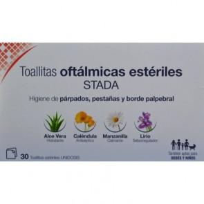 Toallitas Oftálmicas Estériles Stada 30 Unidades