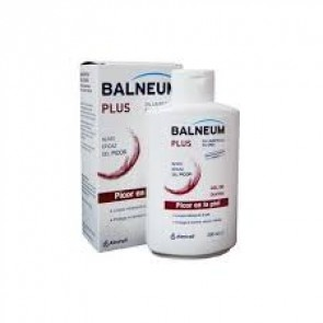 Balneum Plus Gel de Ducha 500 ml - Limpia Suavemente y Alivia el Picor