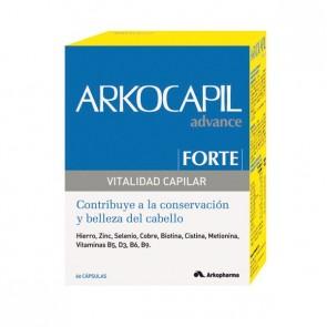 Arkocapil Advance Forte 60 Cápsulas - Caída del Cabello, Crecimiento del Pelo
