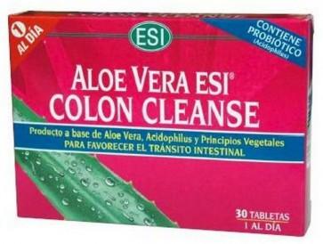 Aloe Vera Esi Cleanse 30 Tabletas - Acción Depurativa