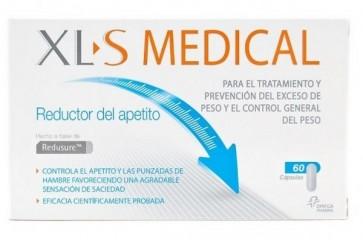 XLS Medical Reductor de Apetito 60comp. - Ideal para ayudar a Combatir el Hambre y la Ansiedad - Reducir Picoteo Entre Horas