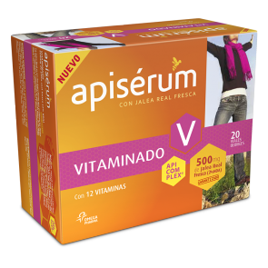 Apiserum Vitaminado 20 Viales Bebibles
