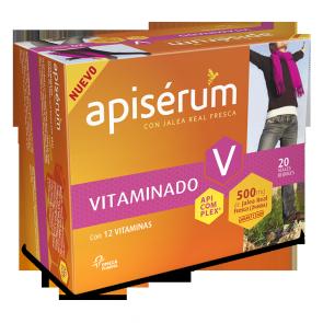 Apiserum Vitaminado 20 Viales Bebibles