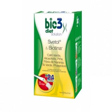 Bie3 Diet Solution Svetol y Biotina dosis solubles - diurético y estimulante