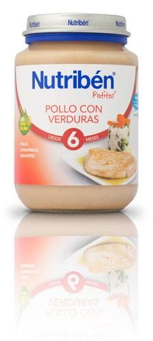 Nutribén Potito Junior Pollo Con Verduras 200 gr