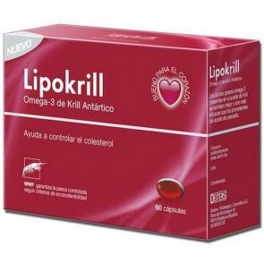 Lipokrill 60 Cáps - Ayuda a Regular los Niveles de Colesterol en Sangre