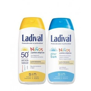 Duplo Ladival Niños SPF 50 200 Ml + After Sun 200 Ml