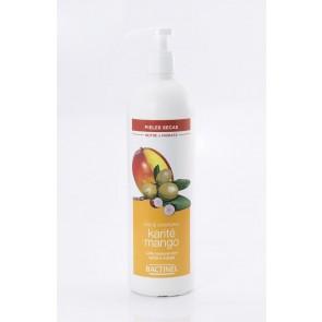 Bactinel Leche Corporal de Karité y Mango  400 ml - Hidratación y Nutrición de Pieles Secas