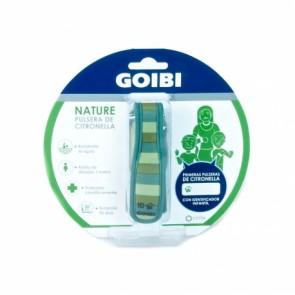 Goibi Pulsera Citronella Rayas Verdes – Pulsera Antimosquitos