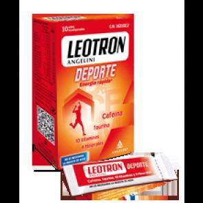 Leotron Deporte 10 sobres - Rendimiento Intelectual, Disminución del Cansancio