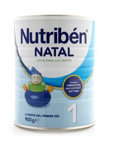 Nutribén Leche Natal 1 a partir del primer día - Leche para Bebés Lactantes 900 gr