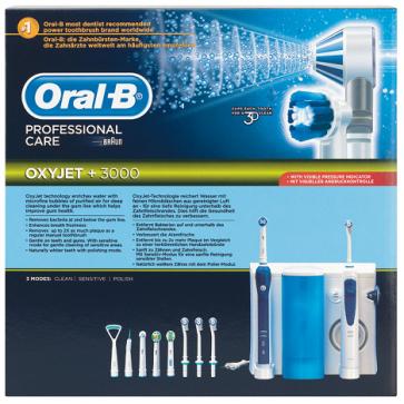 Oral-B Braun Centro Dental Professional Care OxyJet +3000