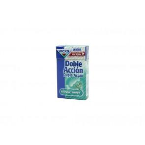 Praims Caramelos Doble Acción Sin Azúcar Caja 40 G - Eucalipto, Suaviza la Garganta