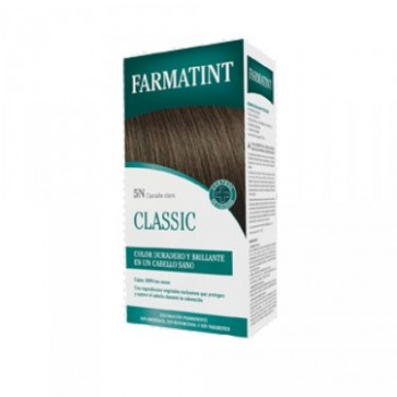 Farmatint 5N Castaño Claro 130 ML - Coloración Permanente Sin Amoniaco