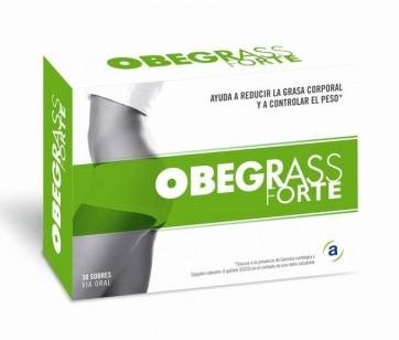 Obegrass Forte 30 sobres - Control de Peso, Reduccion de Grasa Corporal