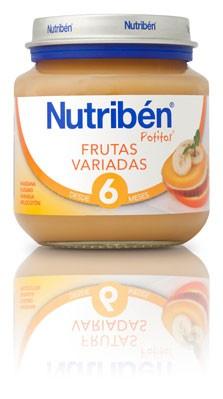 Nutribén Potito Frutas Variadas 130 gr